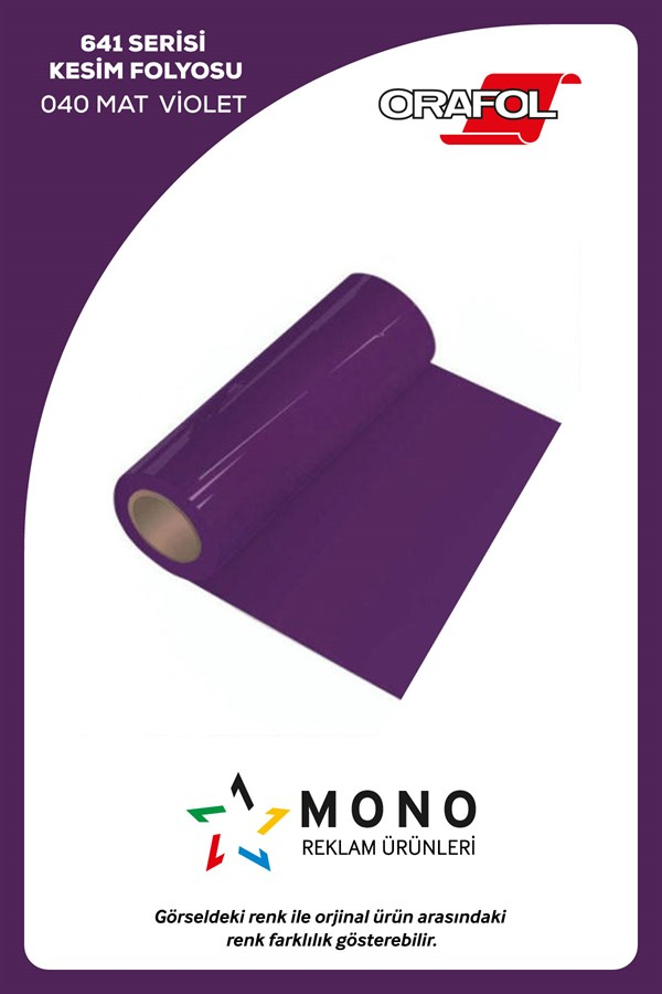 Oracal Kesim 641M-040 Violet Mat